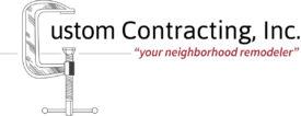 Custom Contracting Logo