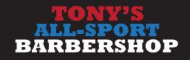 Logo for Tonys Allsport Barbershop
